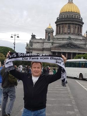 Gerd Naake in St. Petersburg Isaakskathedrale 08.06.18