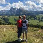 Christin Magh und Michel Berz in Puflatsch Tirol Italien 09.09.2018