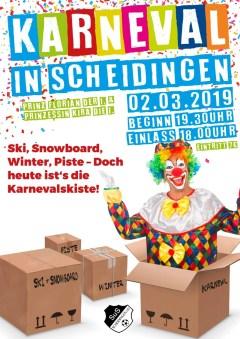 02.03.2019 Karnevalsprunksitzung Scheidingen