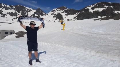 Gerd Naake Auf dem Stubaigletscher Eisgrat 2900m im Stubaital 20.06.19