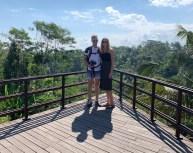 Michel Berz u. Christin Magh auf Bali 05.10.2019