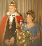 Karneval 1995 Prinzessin Andrea I. (Berz) und Prinz Franz-Josef II. (Berz)