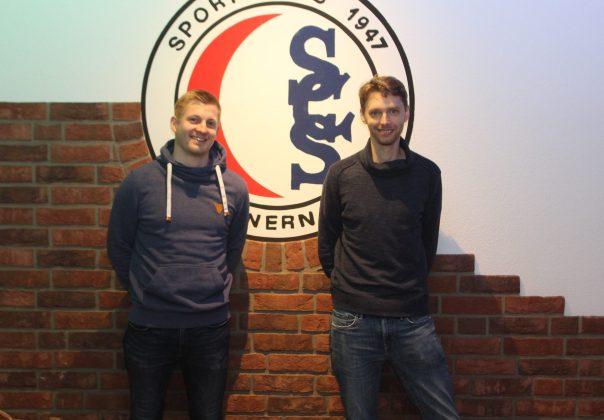 Sebastian Schulte (links) und David Sudhoff führen die AH nun auf ScS-Seite