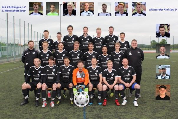 2. Mannschaft SuS Scheidingen Aufsteiger zur B-Kreisliga 2020
