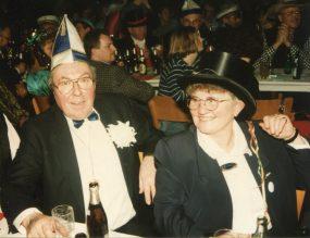 Beim Jubiläums-Karneval 1997 entstand dieses Bild! Friedel war 1971 Prinz Karneval