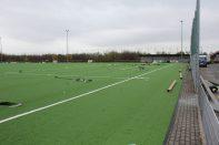 Bau Kunstrasen und Pflasterung rund um den Soccerplatz 21.11.2020