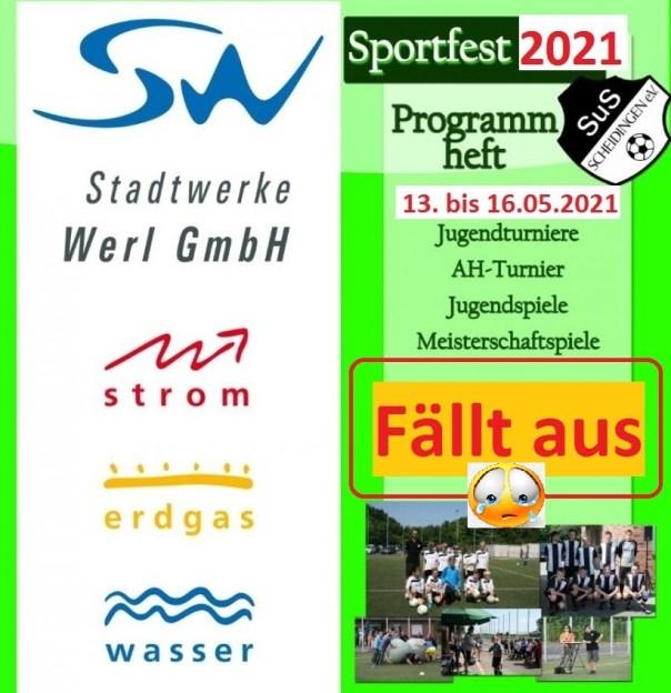 Sportfest 2021 fällt aus