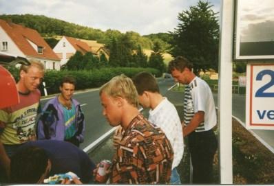 Anreise! Schwede Berz, Dieter Raneck, Norbert Spierling, Thomas Kree, Lutz Drude