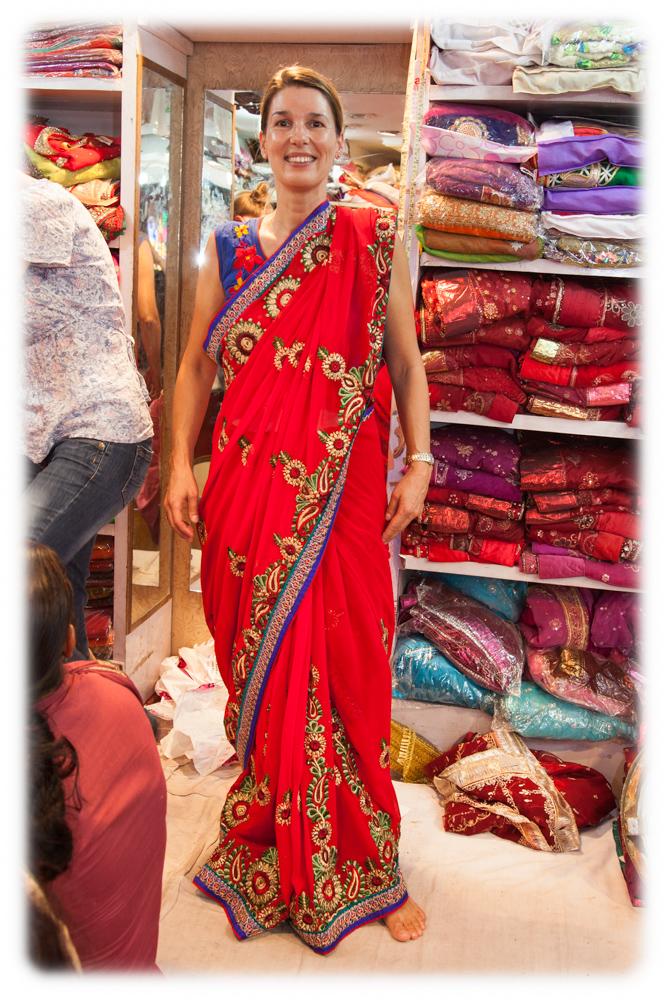 Indien Sari Nordindien photographer Fotograf Frankfurt