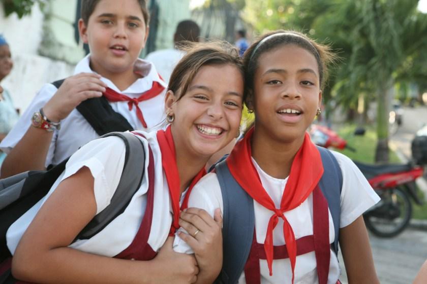 Kuba Havanna Habana Fotograf Pionier Schulkinder Schule-5