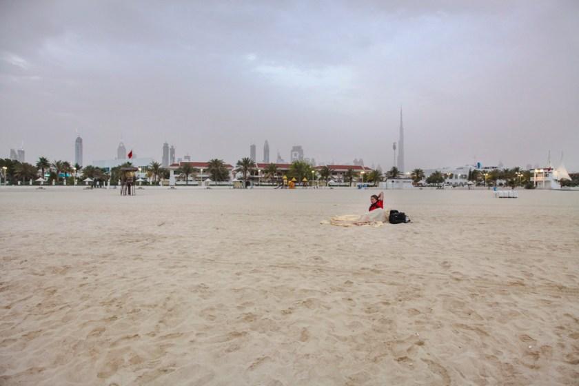 Dubai Strand Zwischenstopp Fotograf Reise-1