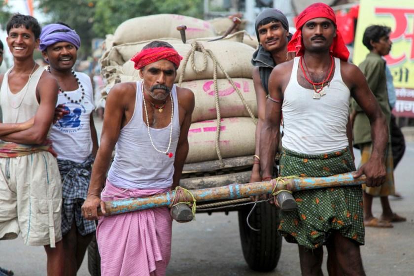 indien arbeiter kalkutta kolkata