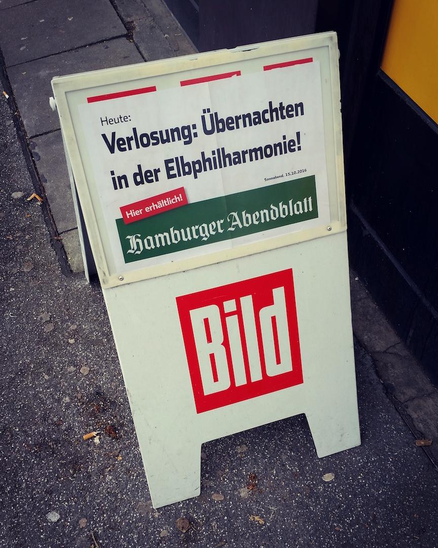 Übernachten in der Elbphilharmonie