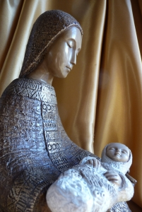Mary and Jesus from Incarnation post at Holy in the Daily blog
