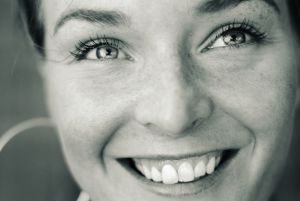 smiling woman for Be Someones Reason to Smile at Holy in the Daily