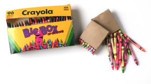 why church is like a box of crayons photo on post at Holy in the Daily