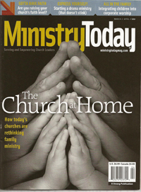 Ministry Today Magazine cover March 2010