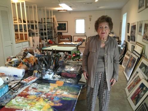 Ruby Allen Studio Visit