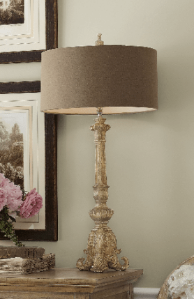 Acanthus Lamp, Soft Surroundings