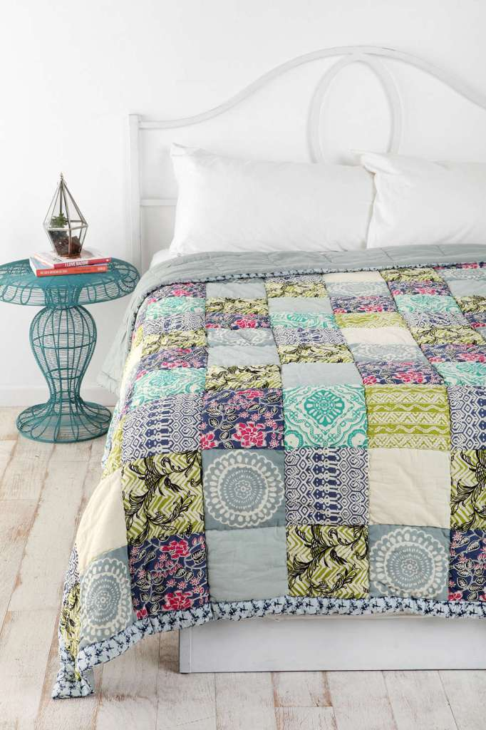 Magical Thinking Bali Patchwork Quilt, Urban Outfitters