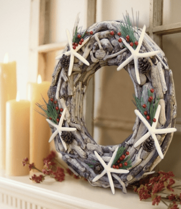 Driftwood Wreath, Cottage & Bungalow