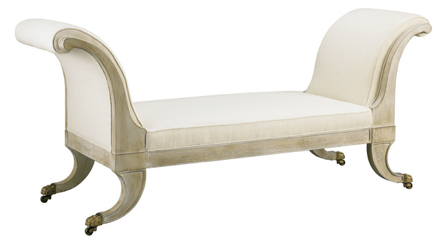 Sophie's Dressing Bench, Mr. and Mrs. Howard for Sherrill Furniture