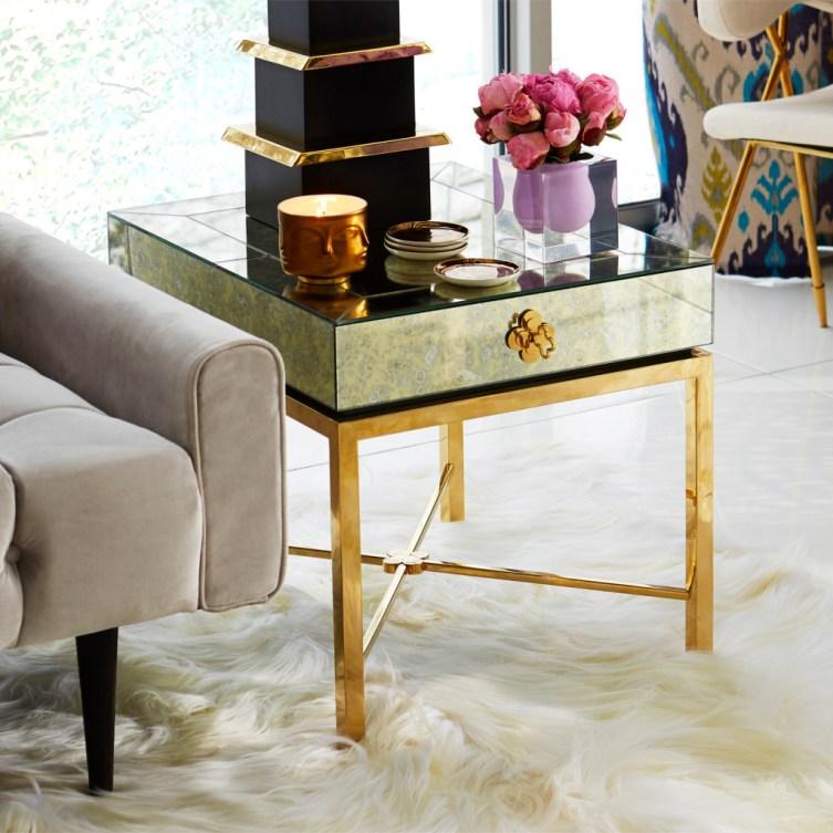 Delphine Side Table, Jonathan Adler