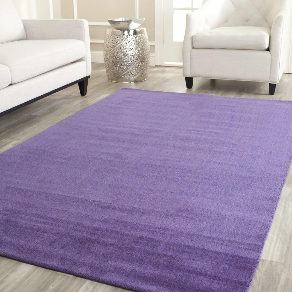 Himalayan Purple Area Rug, Safavieh (Available at Wayfair)