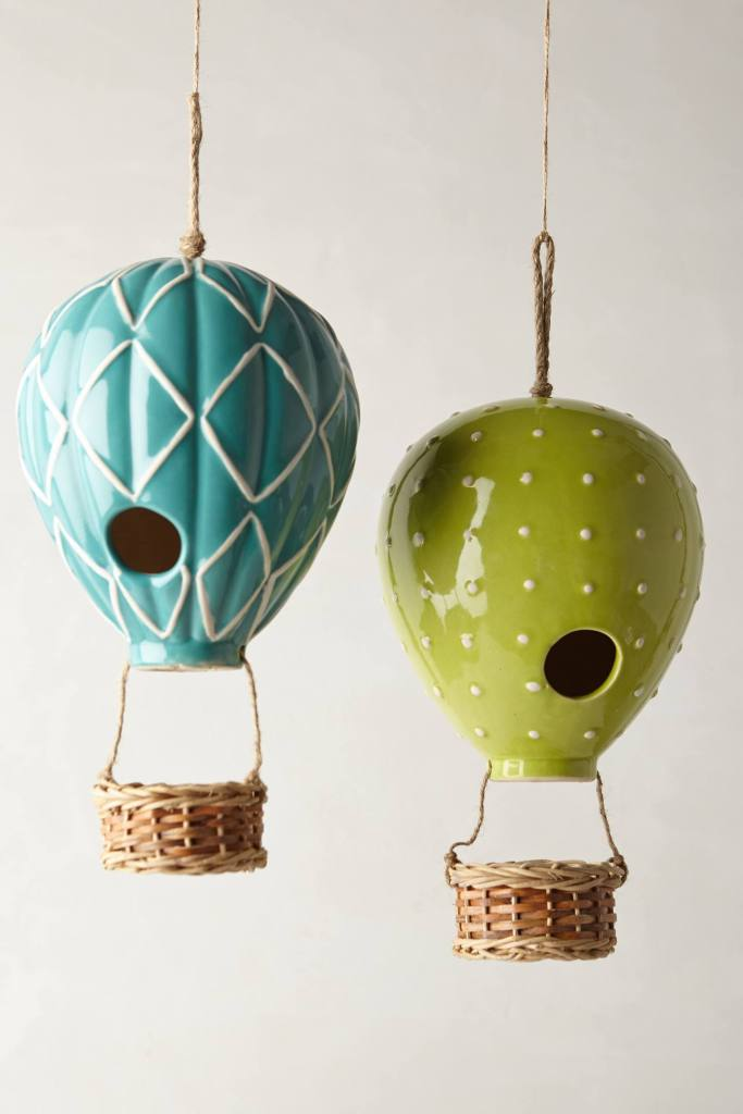Air Balloon Birdhouse- Anthropologie