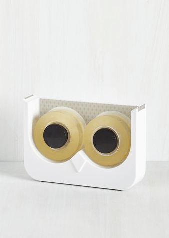 Let's Just Wing It Tape Dispenser- ModCloth