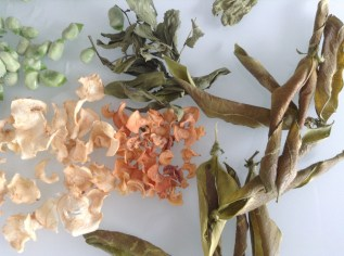 dried stock vegetables