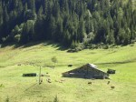Typical alpage farm of the Aravis.