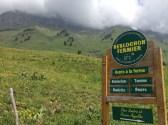 Near the Col des Aravis Reblochon Fermier is produced.