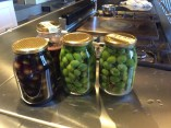 pickled plums