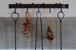 peppers drying