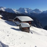 The Belalp, an alpage in winter.