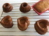 Baked in smaller molds.