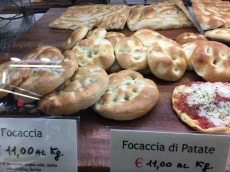 So many versions of Focaccia..