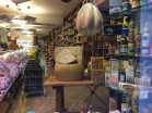 The window of the famous Seghezzo gastronomia in Santa Margherita. You can find almost everything in here.