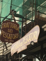 The fisherman's trattoria.
