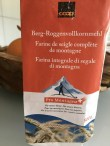 Whole rye flour from the Valais.