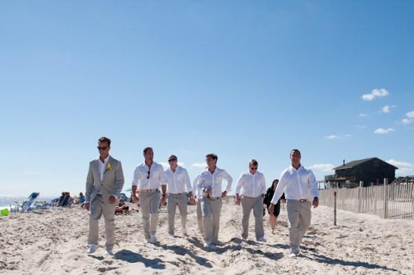 Becky Anthonys Ocean Beach Fire Island Wedding