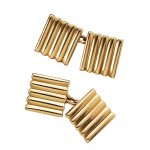 Vintage Cartier 14K gold cufflinks