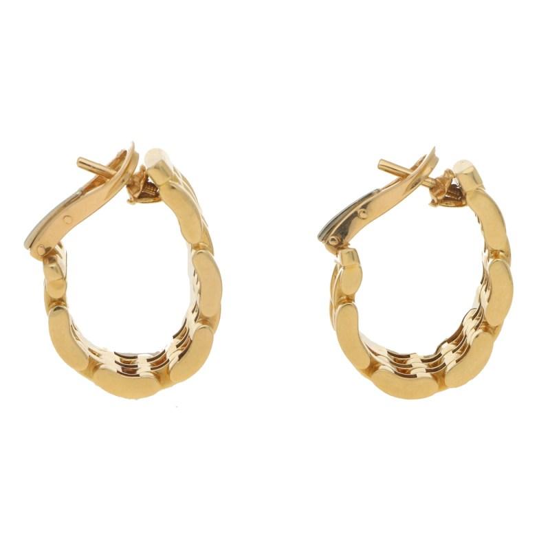 Cartier Maillon de Panthere Link Earrings