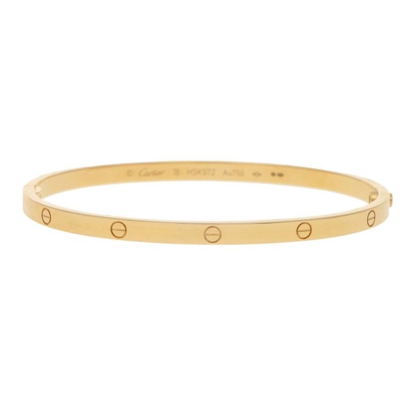 Cartier Love Bangle in Yellow Gold, Size 18