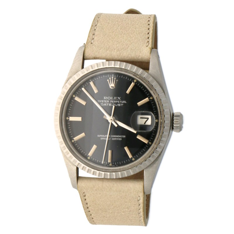 Vintage Rolex Datejust with rare gloss dial