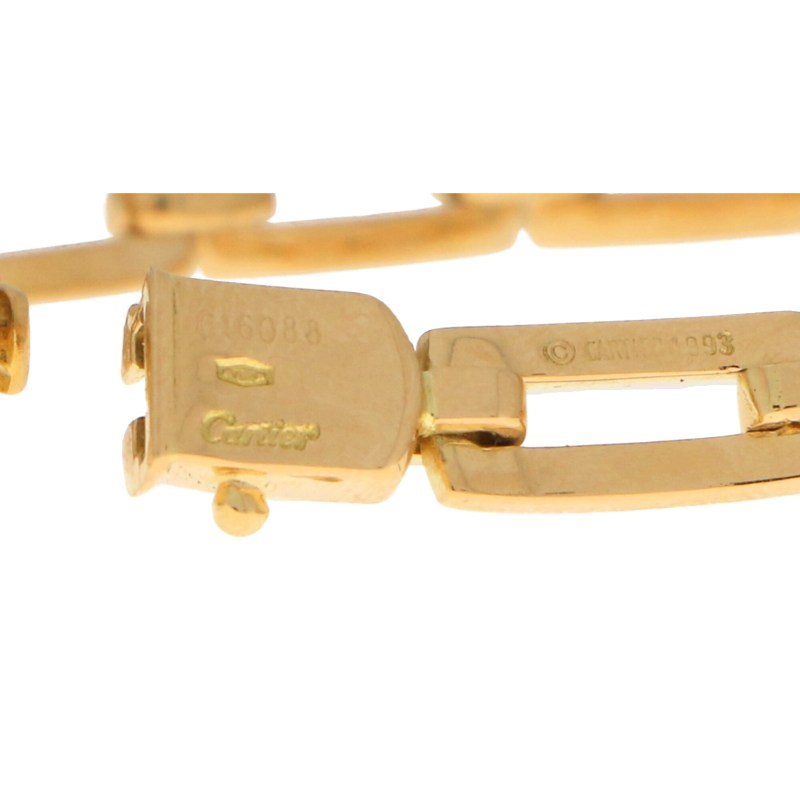 Cartier Chain Link Bracelet in Solid Yellow Gold