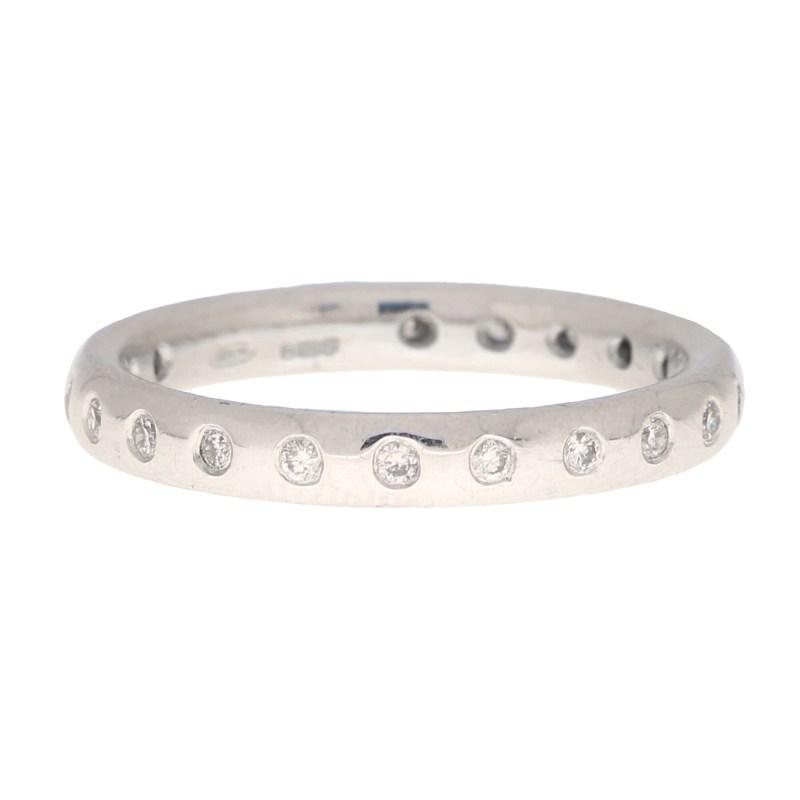Round Cut Diamond Full Eternity Ring