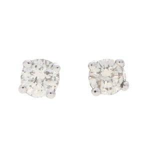 Solitaire Diamond Studs 0.40ct