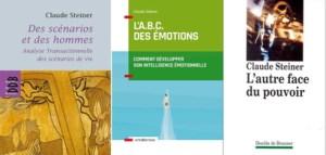 3 livres de Claude STEINER